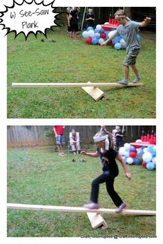 Image result for kids obstacle course party theme