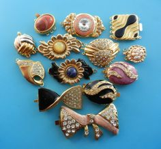 Gorgeous Vintage mix Clasps for Jewelry  1960s and by RAKcreations