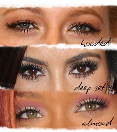 Makeup Tips For Your Eye Shape - Daily Makeover Fashion And Beauty Tips, Beauty Trends, Health And Beauty, Beauty Hacks, Beauty Ideas, Makeup Geek, Skin Makeup, Makeup Tips, Beauty Makeup
