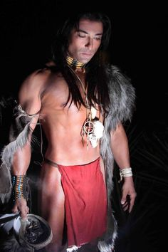 Jay Tavare- Actor/writer totally works for me as Manteo in BREAKING TIES (first book in the Lost Colony Series)