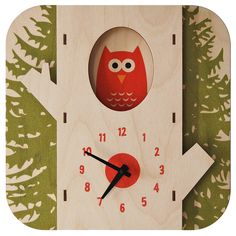 TREE OWL CLOCK from UncommonGoods. Shop more products from UncommonGoods on Wanelo. Owl Clock, 3d Wall Clock, Wall Art, Wall Desk, Alarm Clock, Cute Clock, Clock For Kids, Kids Clocks, Wooden Clock