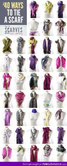Try these new scarf techniques with your Grace Adele scarf! www.PurseChick.graceadele.us