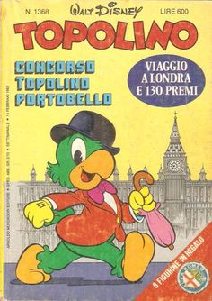 """IL GIOCO DELLA PERSONALITà di Vùesse Gaudio """" Topolino """" n.1368 Arnoldo Mondadori Editore Settimanale 14 febbraio 1982 ..."""
