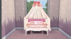 Sanjana Sims: Sweet Dreams Nursery Furniture Set- part. 1 • Sims 4 Downloads