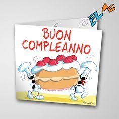 Biglietto musicale Compleanno (FV07-06)   Le Formiche di Fabio Vettori #formiche #fabiovettori #biglietto #auguri #musica #music #fun #regalo #gift #compleanno #torta #happybirthday