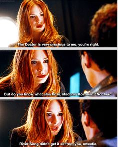 [gifset] You took my baby from me and hurt her. And now she's all grown up and she's fine. But I'll never see my baby again. #AmyPond #DoctorWho
