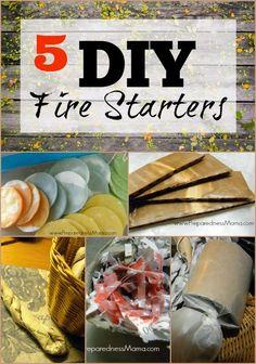 5 frugal ways to make DIY fire starters   PreparednessMama