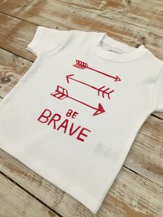 Be Brave Arrow T-Shirt - Arrow Top - Scandi Toddler and Baby Clothes - Arrows Baby and Toddler Short Sleeve Top - Organic Tee Arrow T Shirt, Keepsake Quilting, Arrow Design, Baby Leggings, Duck Egg Blue, Green And Orange, Cotton Shorts, Baby Bodysuit, Brave