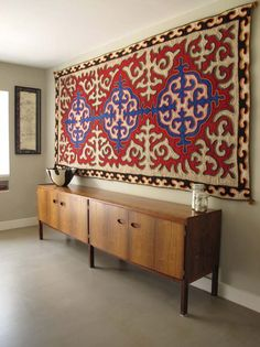 Rugs As Textile Art To Hang On The Wall