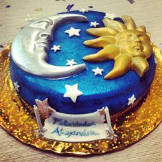 Extreme Chocolate Moon Sun Cake