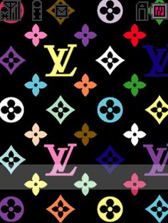 Louis Vuitton Rainbow iPhone 5 Wallpaper. Wallpapers
