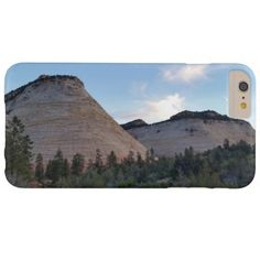 checkerboard mesa Zion National Park Barely There iPhone 6 Plus Case