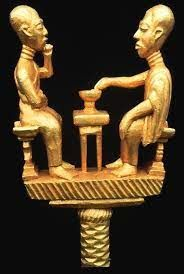 ghana staff linguist - Google Search Antique Gold Rings, African Sculptures, Africa Art, African Jewelry, Art Google, Art Museum, Egypt, Artsy, Art Life