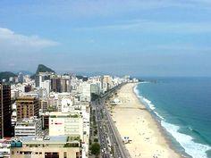 Copacabana Beach, Bolivia, South America