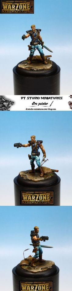 Mitch Hunter & Pride Mutant Chronicles Warzone Resurrection