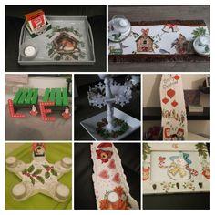 kerst met hout, van alles en nog wat