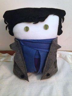 Sherlock Holmes Pillow by Iwanttobeacompanion on Etsy