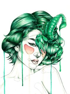 """Scorpio"" Art Print"