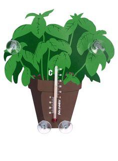 TERMOMETER BASILIKA Perfekt i köket eller i växthuset. Växter, design, inredningstips.