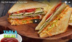 Veg Club SandwichRecipe Video