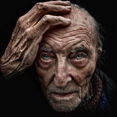 Striking Portraits Of Homeless People by Lee Jeffries
