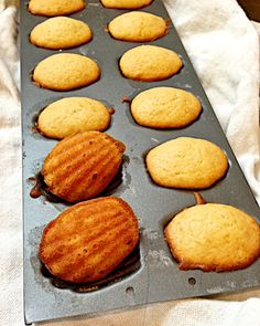 Le Maddalene (Orange and Vanilla Madeleines) Italian Desserts, Italian Recipes, Christmas Baking, Christmas Holidays, I Foods, Sweet Recipes, Sweet Tooth, Sweet Treats, Vanilla