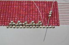 How to finish the edges of loomed bead projects. Options and techniques. Good close up pictures.   #Seed #Bead #Tutorials