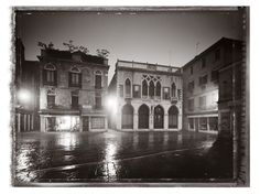 venice without people, christopher thomas