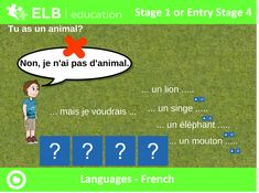 Use touch, sounds and interactivity to learn French vocabulary for animals with this engaging Prowise PResenter resource. Don't have Presenter? Don't worry, click the link to create a free account.