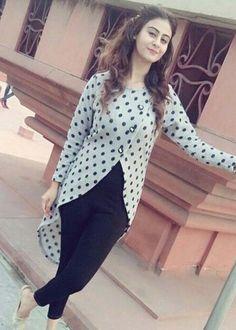 Fashion Zonez Cream Satin Silk Shibori Print 2019 Salwar Designs, Kurti Neck Designs, Kurti Designs Party Wear, Blouse Designs, Stylish Dresses, Fashion Dresses, Kurti With Jeans, Fancy Kurti, Indian Designer Suits