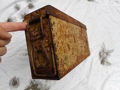 #Original ww2 german army dak #afrikakorps #elite mg42 mg34 ammo can tin box tan ,  View more on the LINK: http://www.zeppy.io/product/gb/2/391682549159/