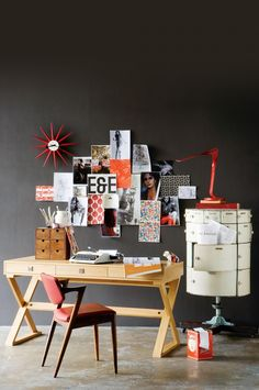 8 home offices and studies with style. Styling by @vctstylist. Photography by Sam McAdam-Cooper.