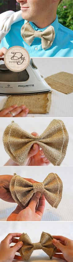 DIY Tutorial: New Sew Bow Ties!