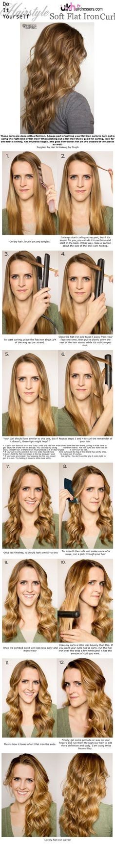 soft-flat-iron-curls via