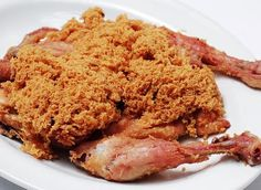 Ayam Goreng Kremes Ny. Suharti yang ASLI ( Fried Chicken Kremes Mrs. Suharti original recipe)