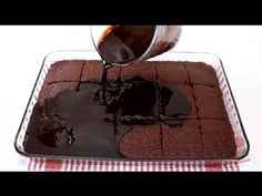 Dessert Recipes, Desserts, Chocolate Cake, Make It Yourself, Food, Youtube, Sweets, Kitchens, Tailgate Desserts
