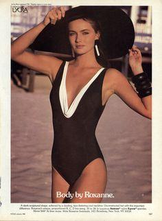 Paulina Porizkova for Roxanne Spring/Summer 1985