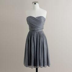 J.Crew Tall Arabelle dress in silk chiffon ($250) ❤ liked on Polyvore