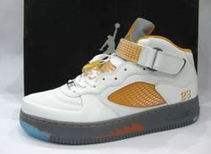 buy popular 3b016 aadc7 Discover the Top Deals Air Jordan Force Fusion 5 White Orange Peel Blue  Stealth Varsity collection at Footlocker. Shop Top Deals Air Jordan Force Fusion  5 ...