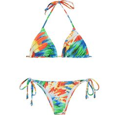 cfa9be1285 ( 215) ❤ liked on Polyvore featuring swimwear