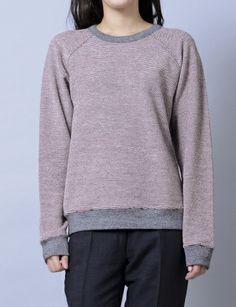 rainbow frenchterry sweatshirt #shopbird #ss14