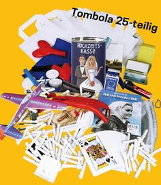 Lieferumfang Komplettpaket Tombola Tombola 15 Teile