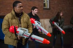 Death by Super Soaker. Moms across America, you have a new cause. #Grimm