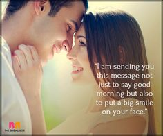 Good Morning Love Messages For Boyfriend - A Big Smile Morning Message For Him, Good Morning Love Messages, Good Morning Quotes For Him, Good Morning Texts, Romantic Poems, Romantic Messages, Love Message For Boyfriend, Boyfriend Quotes, Best Short Poems