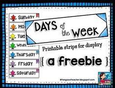 Preschool Calendar Notebook  Preschool Calendar Calendar
