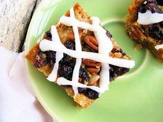 Carrot Cake Cookie Bars - gluten/grain/starch/egg/dairy/sugar free