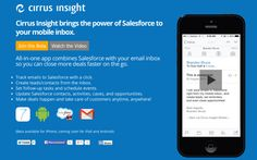 Cirrus Insights unveils iOS app that brings email and Salesforce together on the mobile device - http://limk.com/news/cirrus-insights-unveils-ios-app-that-brings-email-and-salesforce-together-on-the-mobile-device-291354386/