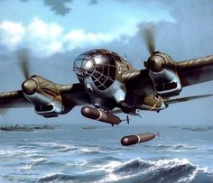 1942 Noruega Heinkel He111 torpedero - Arkadiusz Wróbel