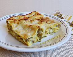 Golosi Pasticci: Lasagne carciofi e asparagi selvatici