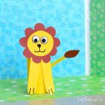 Paper Roll Lion Craft – Toilet Paper Roll Crafts